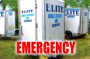 Coolrooms for Emergency