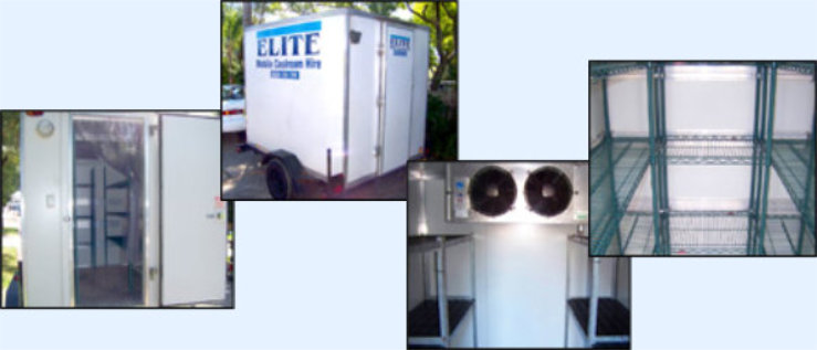 Elite Mobile Coolrooms for Hire