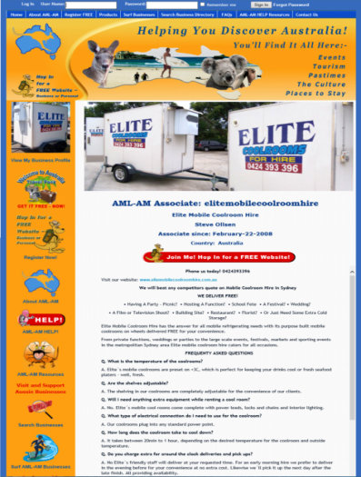 AML-AM Associate Elite Mobile Cool Rooms